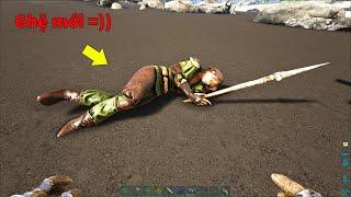 "ARK: Annunaki #11 - Taming ""Ghệ Mới"" Trong Game ARK, Human Tribesmen NPCs ^^"