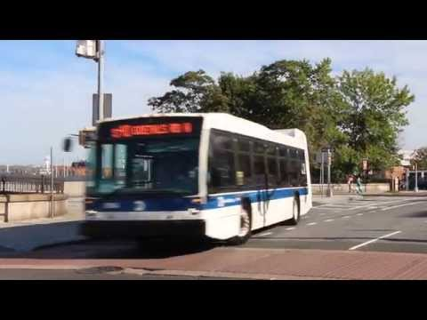 MTA NYC Bus # 4128 Not in Service & 8184 on the s40