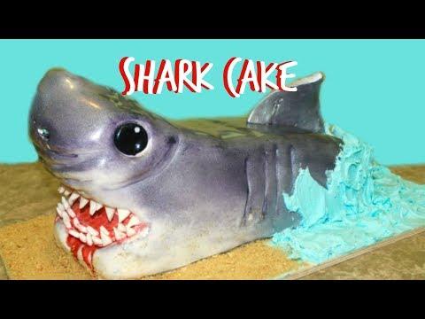 How To Make a SHARK CAKE!