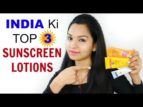 India Ki TOP 3 Sunscreen Lotions - Affordable & Effective | Anaysa