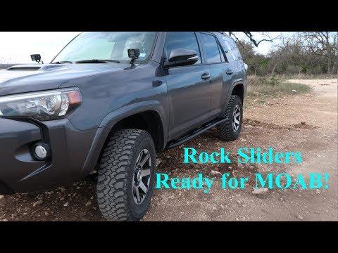 Installing 5th Gen 4Runner Rock Sliders - RSG Offroad Sliders - S2E47