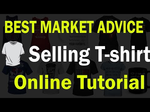 Best Market Advice for Selling T Shirts Online Ecommerce Tutorial Hindi ✅