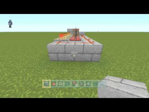 How to make a Simple, but effective TNT cannon [Minecraft PS3/Xbox]