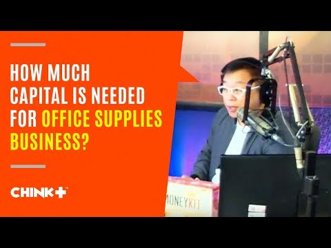 How much Capital is Needed for Office Supplies Business?