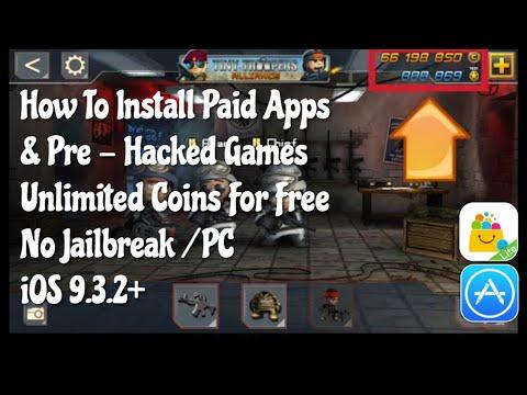 How To Install Pre Hacked Games For Free iOS 9.3.3 No JB/PC No Crash