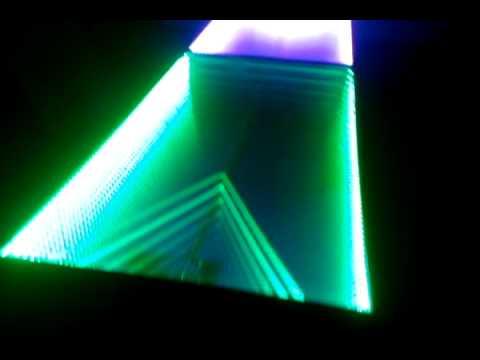 Glowing Infinity LED Beer Pong Table | CustomGlow