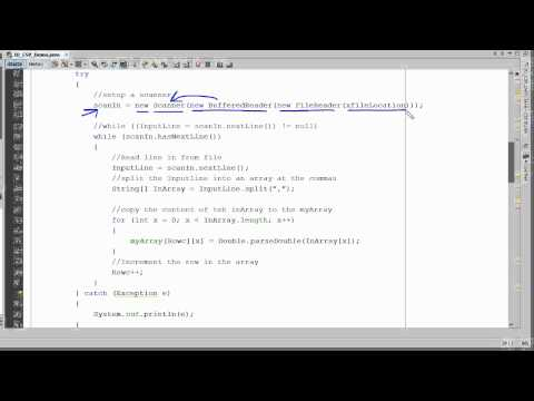 Java - Import CSV File Into An Array
