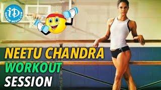 Neetu Chandra Workout Session - iDream Filmnagar