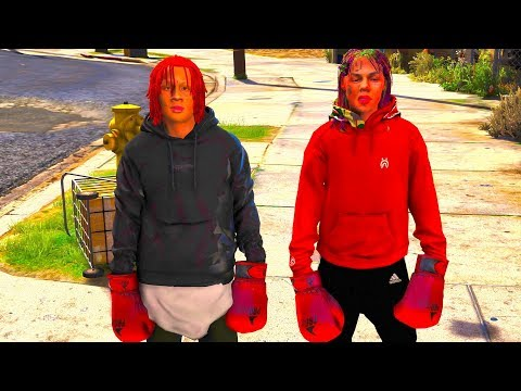TRIPPIE REDD AGAINST 6IX9INE WHO WILL WIN? #73 (REAL LIFE MOD)