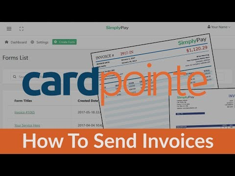 CardPointe Invoice - How To Invoice With CardPointe Virtual Terminal & Gateway