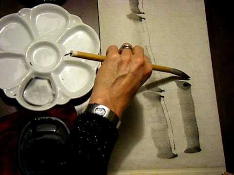 Painting Bamboo - the culm (introduction 2)