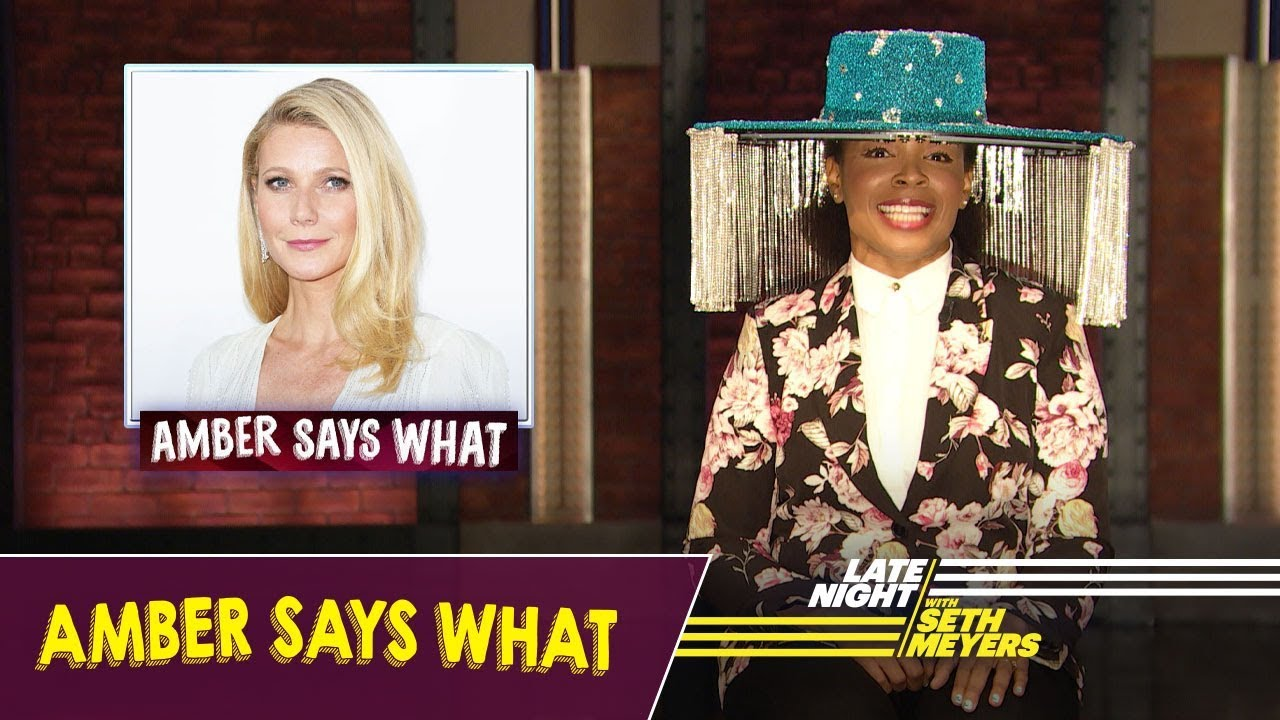 Amber SaysWhat: JLo and Shakira's Super Bowl Halftime Show, Billy Porter's Hat