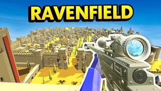 NERF WAR! Epic Battles Using NERF Blaster Arsenal (Ravenfield Nerf
