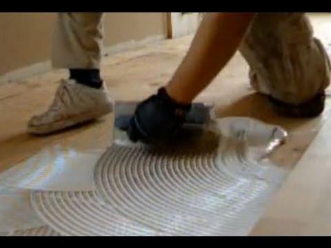 Glue Down Hardwood Flooring on Plywood: Unfinished Hardwood Floor Installation Mryoucandoityourself