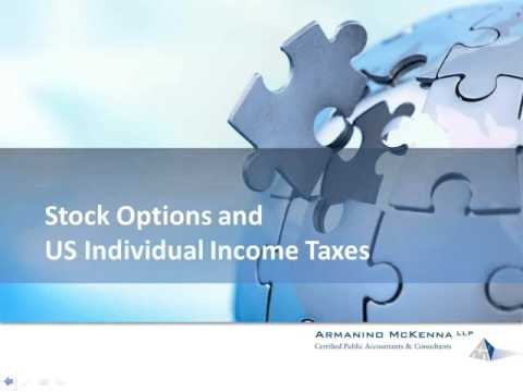 Stock Option Plans and Taxes for Individuals and Corporations