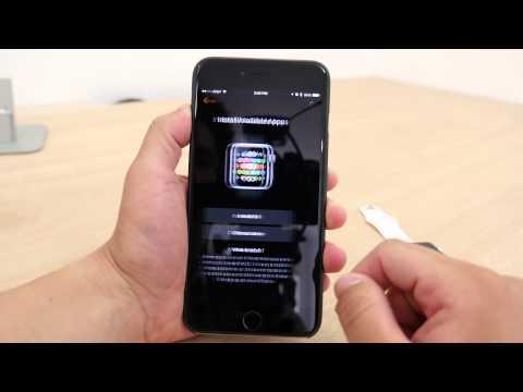 Apple Watch First Time Setup Walkthrough