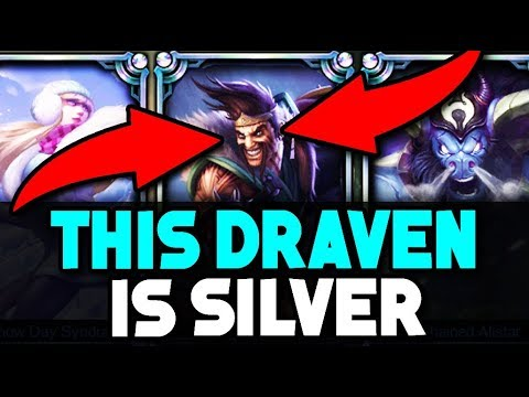 Placing a SILVER Draven Player in a Diamond Solo Q Game (PLAYS AGAINST TOBIAS FATE)