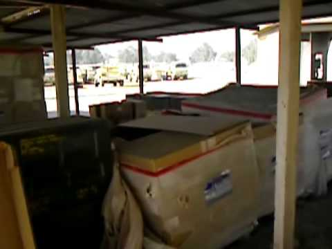 Medical Equipment and Supplies I Couldnt Give Away in Iraq 2005