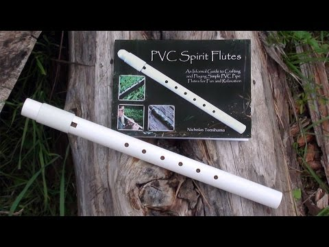 Making a DIY Native American Style Flute Out of a PVC Pipe