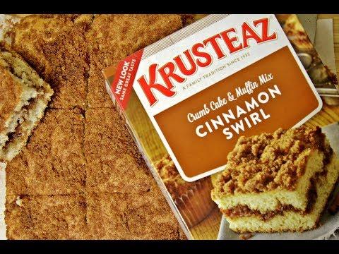 Krusteaz Cinnamon Swirl Crumb Cake and Muffin Mix