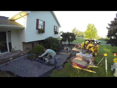 Paver Walkway & Steps in New Holland, PA