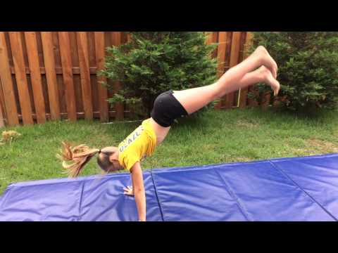how to improve your back handspring