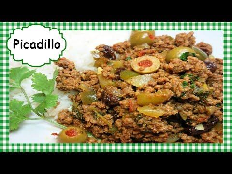 Easy PICADILLO Recipe ~ How to Make Picadillo Ground Beef Hash