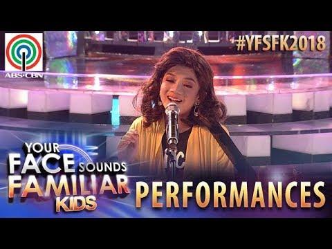 Your Face Sounds Familiar Kids 2018: Marco Masa as Moira Dela Torre | Titibo-tibo