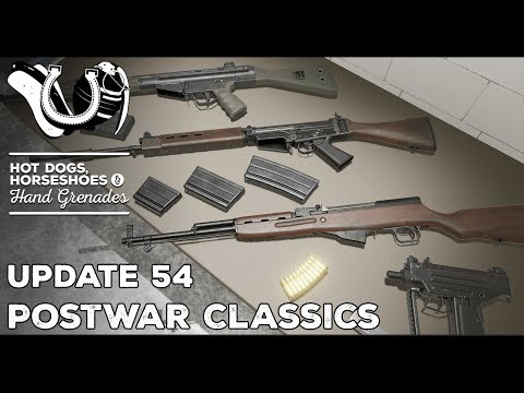 H3VR Early Access Update #54: PostWar Classics, Knuckles Controller v2 Tour, Virtual Stock & More!