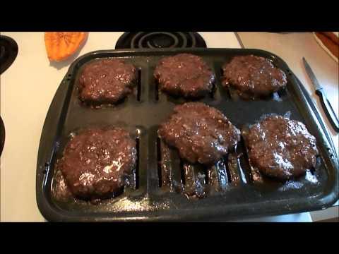 Homemade White Castle Burgers!