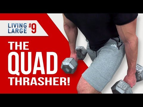 The 4 Absolute Best Leg Exercises FOR MEN! (KILLER QUAD WORKOUTS)