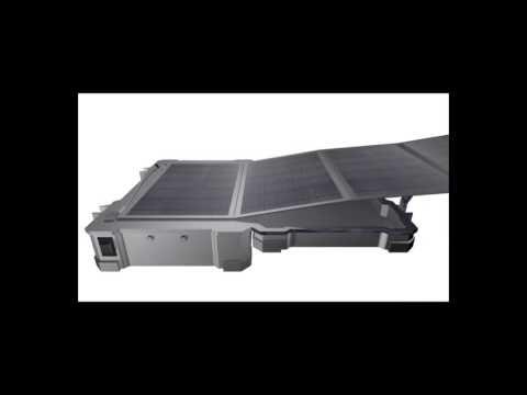 Solar Power Suitcase 50W  China Solar Power Generator