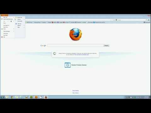 How to clear your cookies, cache and browsing history in Mozilla Firefox 19