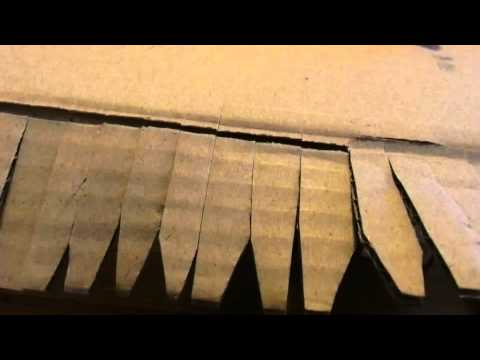 Making sound from cardboard box: Paper sound