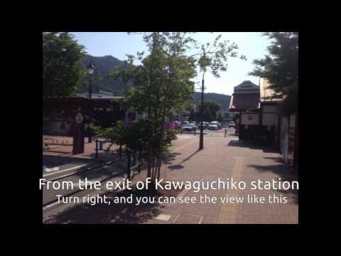From Mishima to Hotel Regina Kawaguchiko by bus(New)