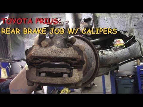 Toyota Prius - Rear Brake Pads, Rotors & Calipers