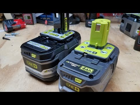 Ryobi One+ 6Ah Battery Review: More POWER!