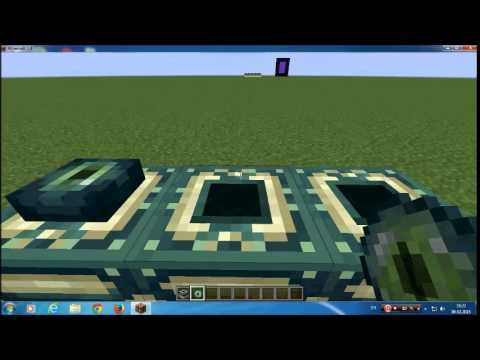 How to make dragon teleporter in minecraft