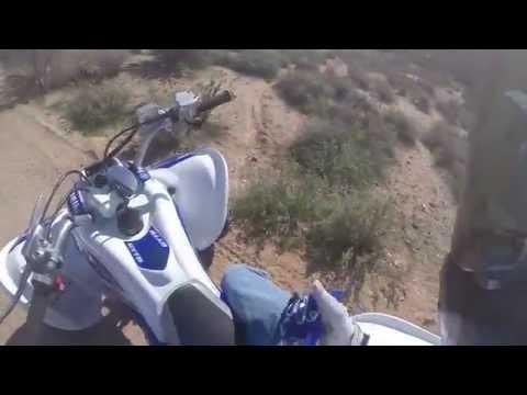 Yamaha YXZ1000r Ride With Raptor 700r + CRASH