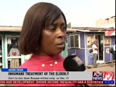 Inhumane Treatment of the Elderly - News Desk (9-12-14)