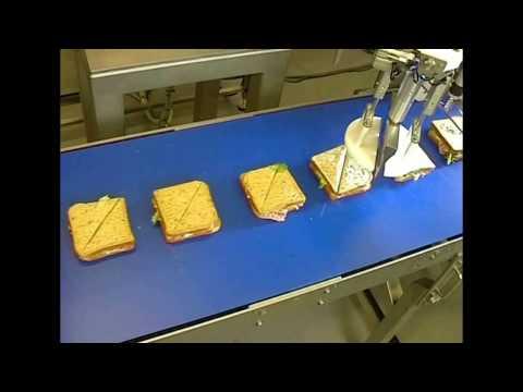 Robotic Sandwich Cutting Machine