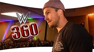 See the Stardust/Stephen Amell confrontation in 360!