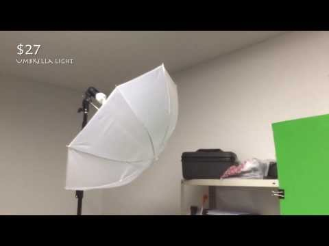 How to make your own budget Green Screen Studio