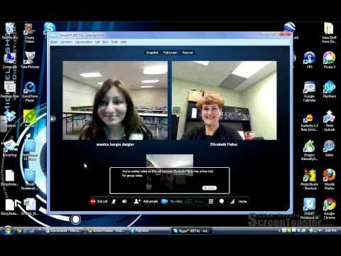 Using Multi Video Chat on Skype