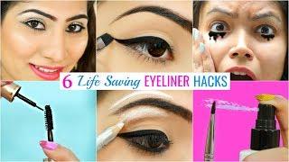 6 LIFE Saving EYELINER Hacks You Must Try | #Beauty #Makeup #Anaysa
