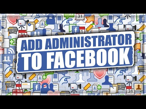 How To Add Admin On Facebook Page 2019