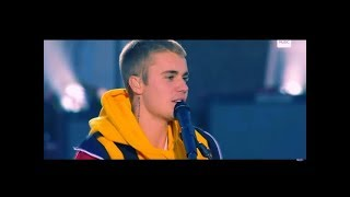 Justin Bieber Crying One Love Manchester Ariana Grande (Live) Performance