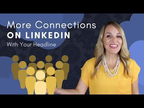LinkedIn Headline Tips - How To Write A Good LinkedIn Headline