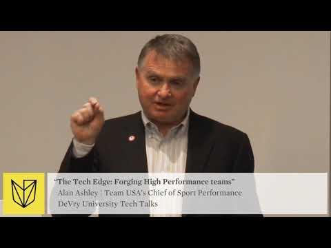 DeVry University Tech Talk: USOC Team USA - Forging High Performance Teams -  Applying Data