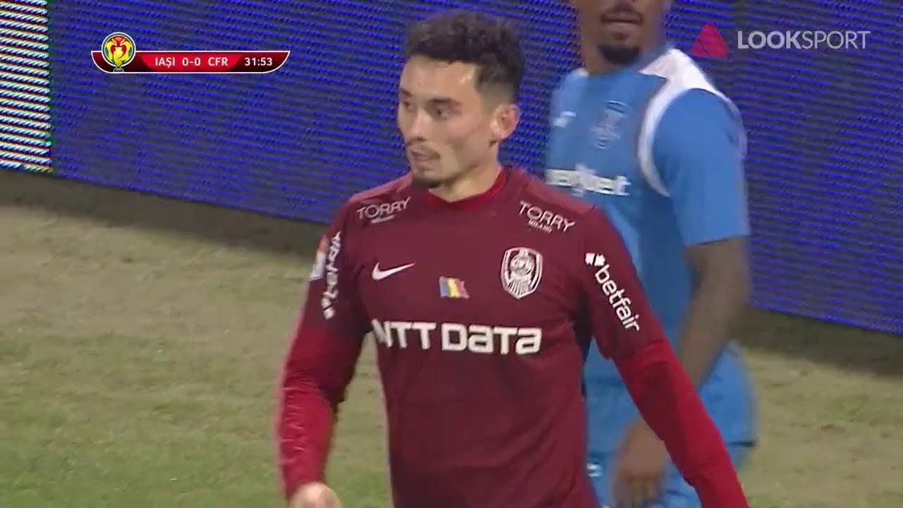REZUMAT Cupa României: Poli Iaşi - CFR Cluj 1-0. Surpriză în Gruia